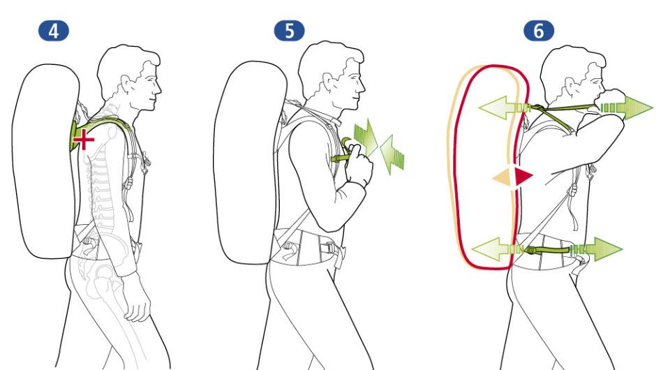 Подгонка рюкзака 2